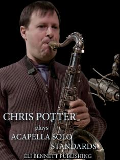 Chris Potter Transcription Book | JazzCorner com News